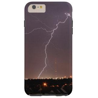 オクラホマシティーの稲妻のIPhoneの場合 iPhone 6 Plus タフケース