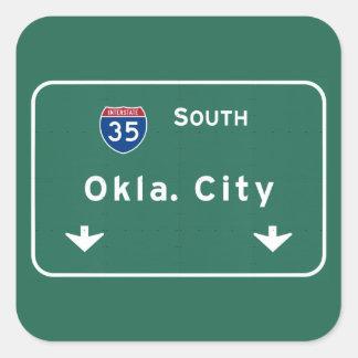 オクラホマシティーの良い州間幹線道路の高速道路: スクエアシール