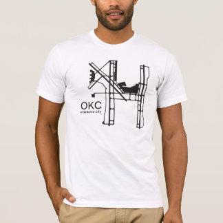 オクラホマシティー空港ワイシャツ Tシャツ