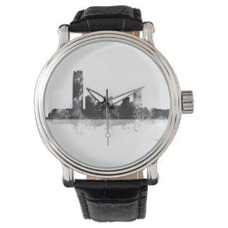 オクラホマシティー、オクラホマのスカイライン 腕時計