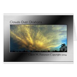 オクラホマ上の雲 カード