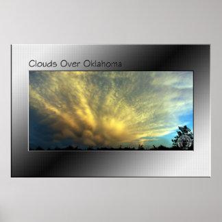 オクラホマ上の雲 ポスター