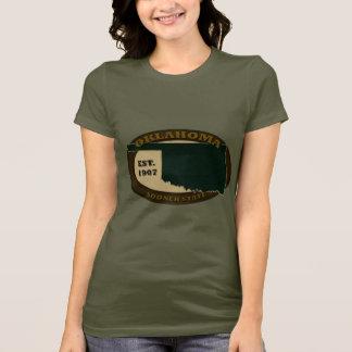 オクラホマ米国東部標準時刻。 1907年 Tシャツ
