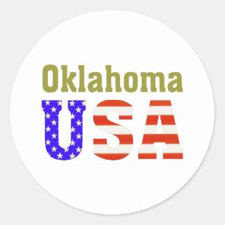 オクラホマ米国! ラウンドシール