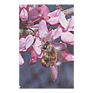 オクラホマRedbudおよび蜜蜂 便箋