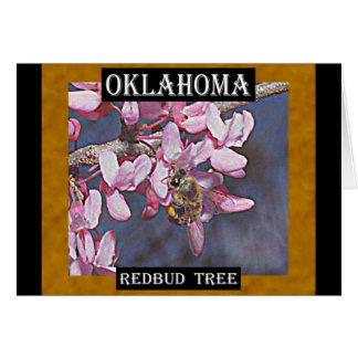 オクラホマRedbudの木および蜜蜂 カード