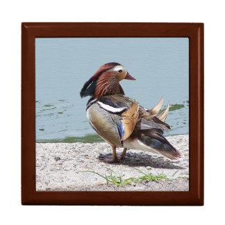 オシドリの鳥の野性生物動物のギフト用の箱 ギフトボックス