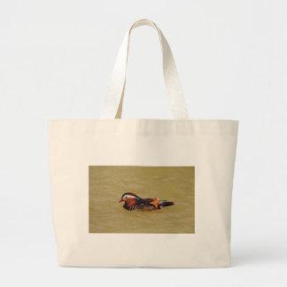 オシドリ ラージトートバッグ