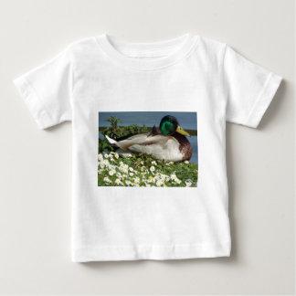オスのマガモのアヒル ベビーTシャツ