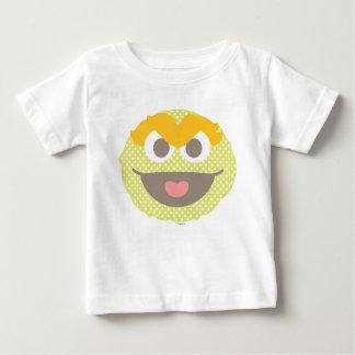 オスカー不機嫌の水玉模様の大きい顔 ベビーTシャツ