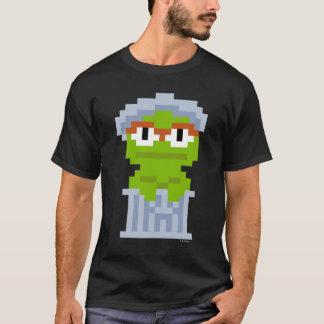 オスカー不機嫌ピクセル芸術 Tシャツ