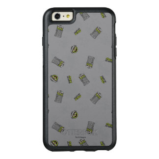 オスカー不機嫌 灰色パターン オッターボックスiPhone 6/6S PLUSケース
