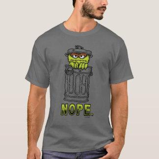 オスカー不機嫌- Nope. Tシャツ