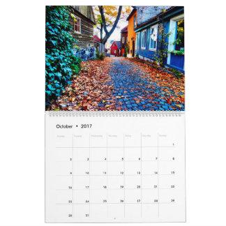 オスロのカレンダー カレンダー