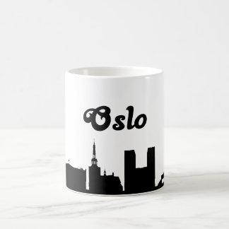 オスロノルウェーの陸標のギフトのマグ コーヒーマグカップ