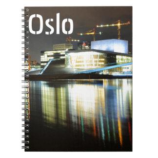 オスロ、夜のノルウェー ノートブック