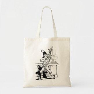 オズの魔法使いのかかしのヴィンテージの絵 トートバッグ