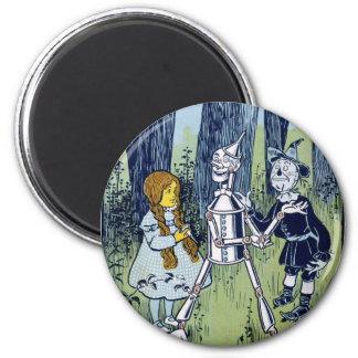 オズの魔法使いドロシーの錫の森の住人のかかし マグネット