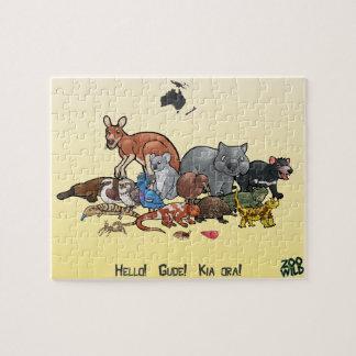 オセアニア動物-ジグソーパズル ジグソーパズル