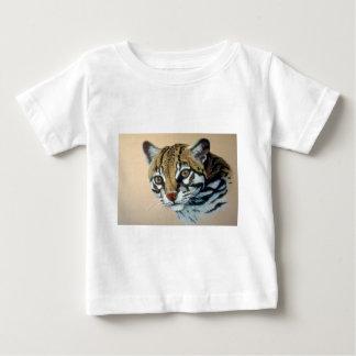 オセロットの勉強 ベビーTシャツ