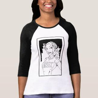 オタクの女の子 Tシャツ