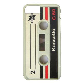 オタク系ので真面目な80年代カセットレトロのカセットテープ iPhone 8/7ケース