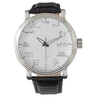 オタク系ので、真面目な数学の方式の同等化 腕時計