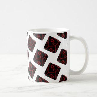 オタク系のなサイコロ コーヒーマグカップ