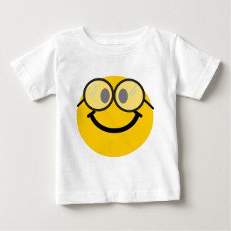 オタク系のなスマイリー ベビーTシャツ