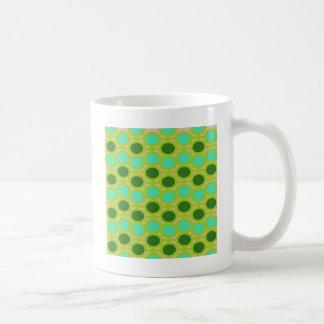 オタク系のな緑アイレット コーヒーマグカップ