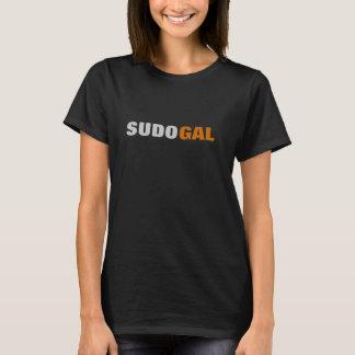 オタク系のなSudo Gal Tシャツ