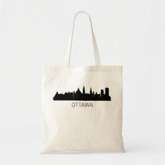 オタワオンタリオの都市景観 トートバッグ