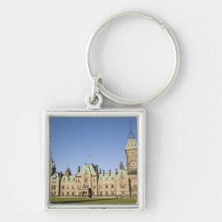 オタワ、オンタリオ、カナダの議会の建物 キーホルダー