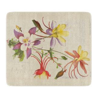 オダマキ(植物)によっては植物の花のまな板が開花します カッティングボード