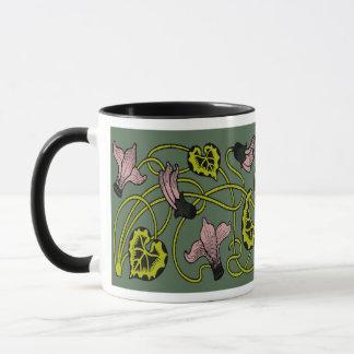 オダマキ(植物) マグカップ