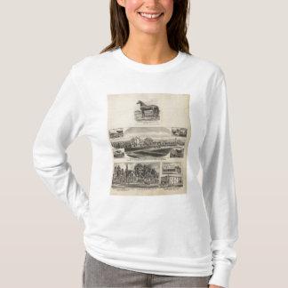 オックスフォードおよびアビリンの住宅、カンザス Tシャツ