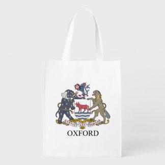 オックスフォードの紋章付き外衣 エコバッグ