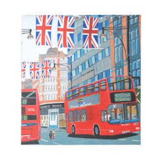 オックスフォードの通りの女王の60周年記念 ノートパッド