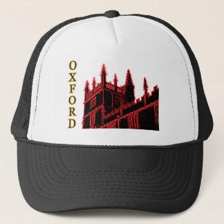 オックスフォードイギリス赤い1986年の造るらせん状 キャップ