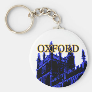 オックスフォードイギリス青い1986年の造るらせん状 キーホルダー