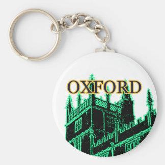 オックスフォードイギリス1986年の造るらせん状の緑 キーホルダー