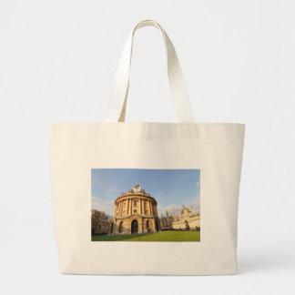 オックスフォード、イギリスの図書館 ラージトートバッグ