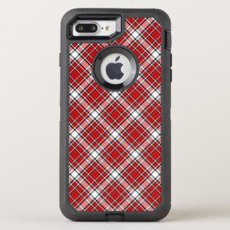 オッターボックスの擁護者のiPhone 6/6sの場合か格子縞は縞で飾ります オッターボックスディフェンダーiPhone 8 Plus/7 Plusケース