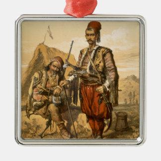 オットマンの軍隊、パブのトルコの歩兵。 によって メタルオーナメント