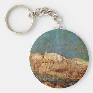 オディロン・ルドン著ベニス風の景色 キーホルダー