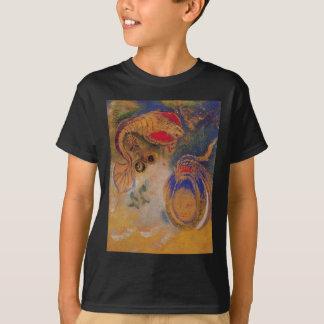 オディロン・ルドン著海の底の動物 Tシャツ