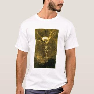 オディロン・ルドン著骨組人 Tシャツ