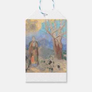 オディロン・ルドン: Le Bouddha、仏 ギフトタグ