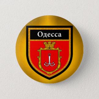 オデッサの旗 5.7CM 丸型バッジ