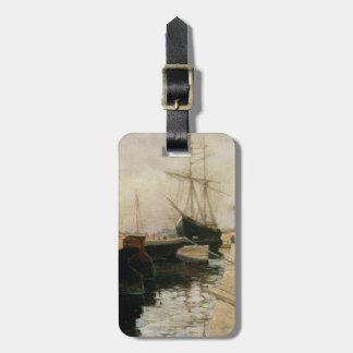オデッサ1900年の港 ラゲッジタグ